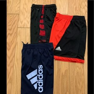 Youth athletic shorts bundle